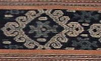 Detail of Ambenu man's wrap