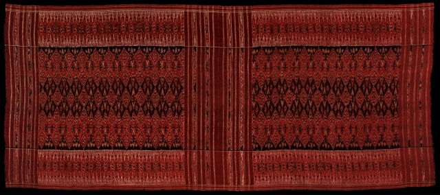 Kamben cepuk, cotton, early 20th C