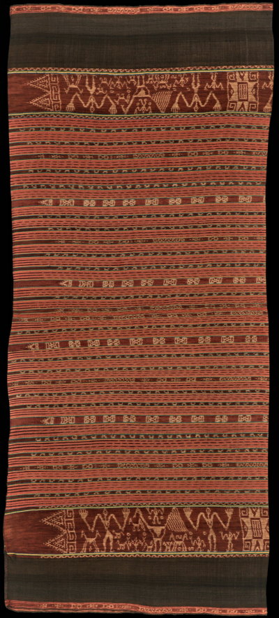 Ikat from Kisar, Moluccas, Indonesia
