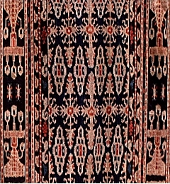 Example of a modern Sumba ikat with traditional design and workmanship