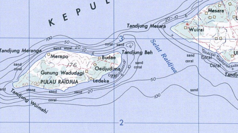 Map of Raijua